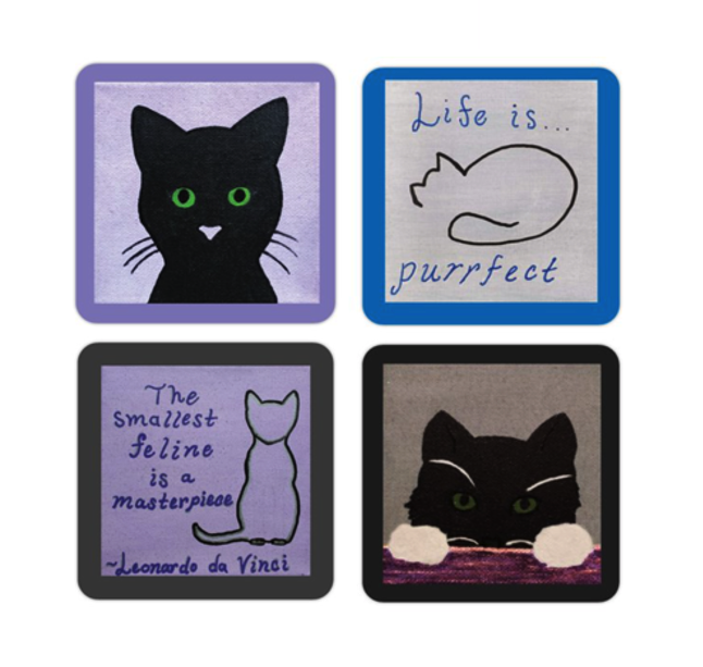 Cat Life stickers