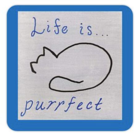 Life is Purrfect sticker