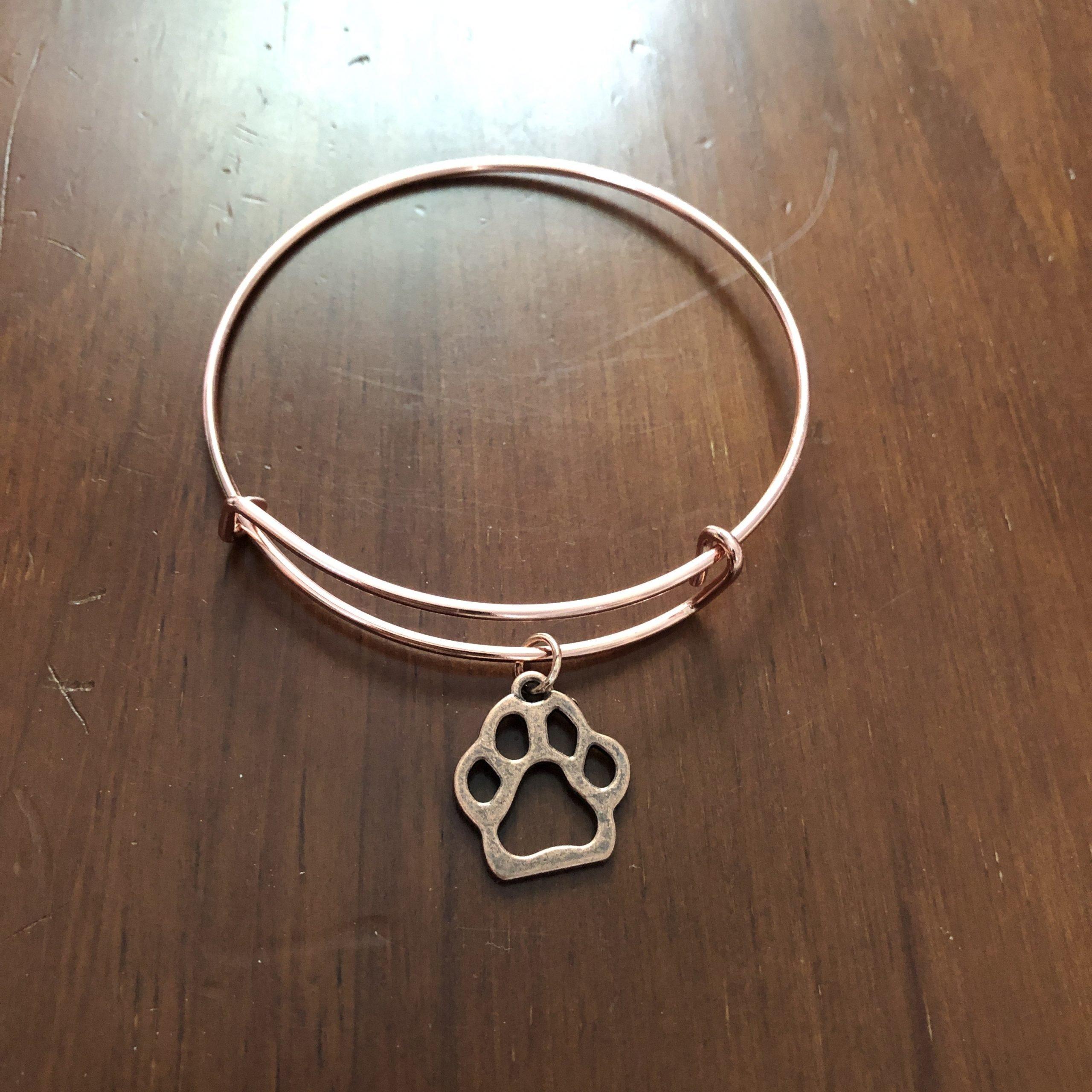 Lucky Cat Charm bracelets rose gold