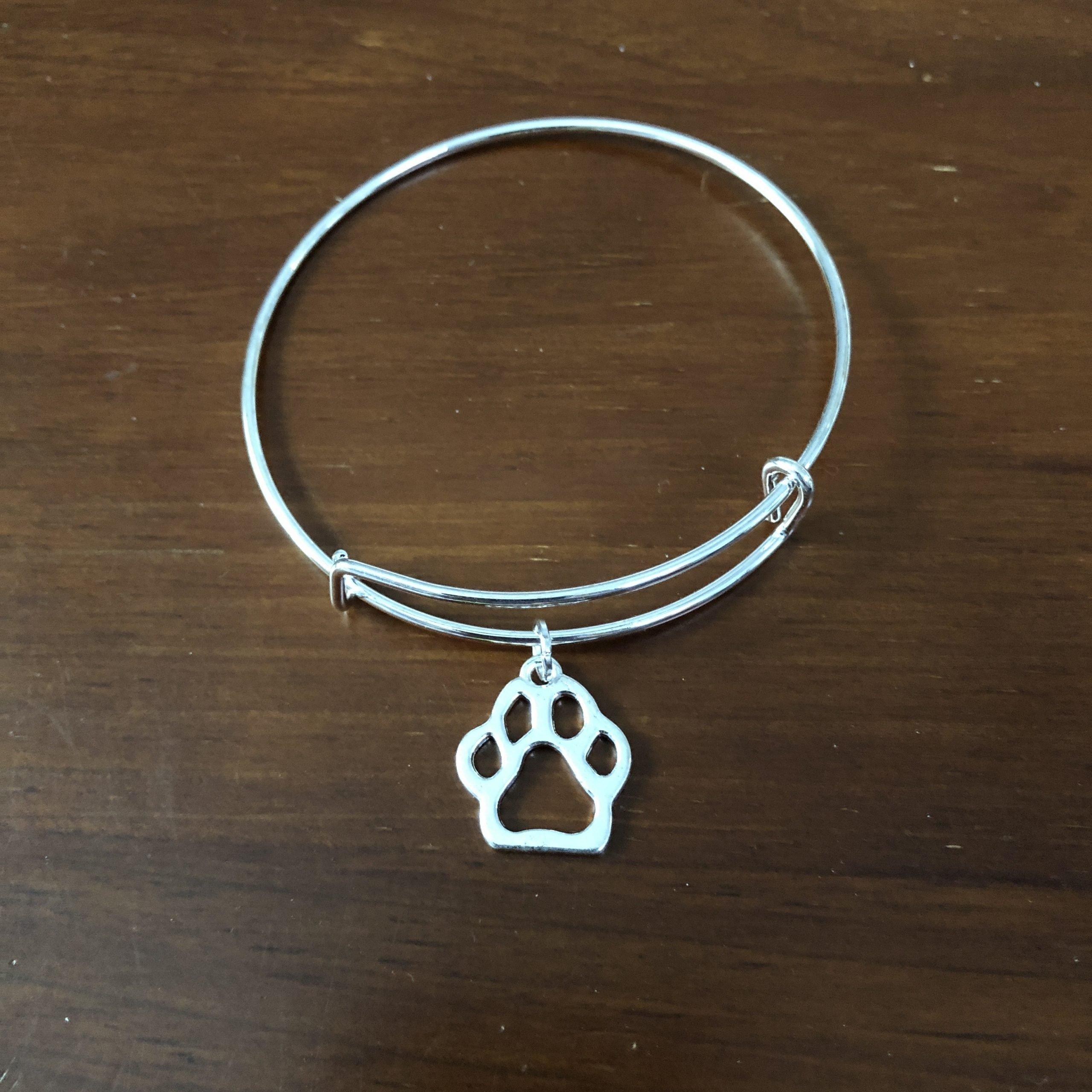 Lucky Cat Charm bracelets silver