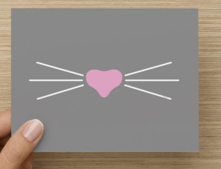 Mister Whiskers Notecards