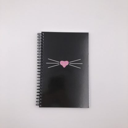 Mr Whiskers notebook